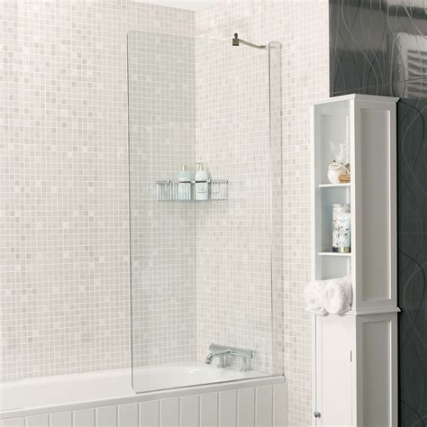shower bath screens embrace fixed bath screen showers