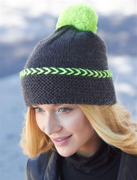 knit hat city chic winter hat allfreeknitting