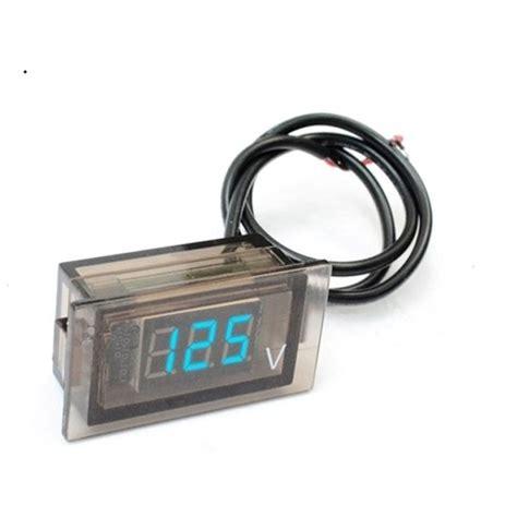 Dijamin Voltmeter Digital Mini 7 25 Volt car auto mini digital led voltage display panel volt meter