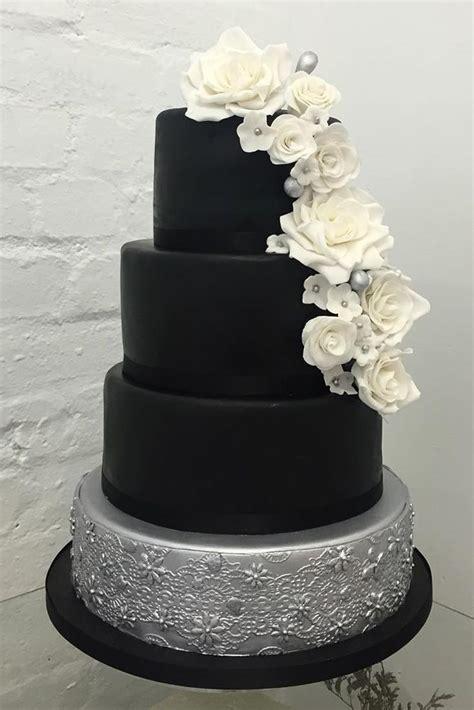 Black And White Wedding Cakes by Wedding Cake Black And White Www Pixshark Images