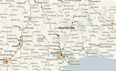 huntsville texas map huntsville texas location on map huntsville texas weather elsavadorla