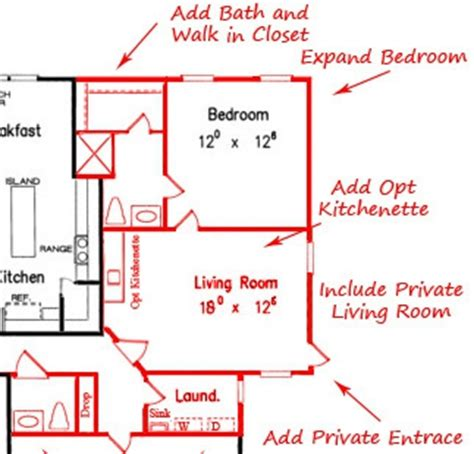 House Plans With Mother In Law Apartment by In Law Suite House Plans Houseplanscom House Plans With