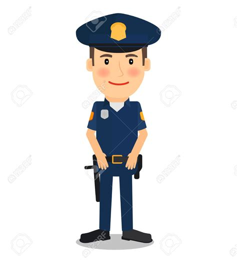 color cop cop clipart officer pencil and in color cop