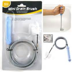 mini sink drain brush cleaner tool 5 ft kitchen uncolg