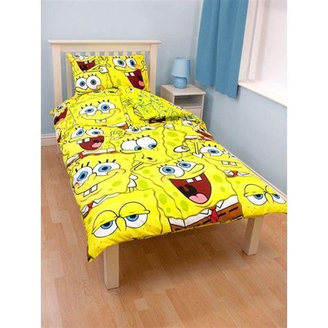 spongebob squarepants bedroom set details about free pnp childrens kids spongebob