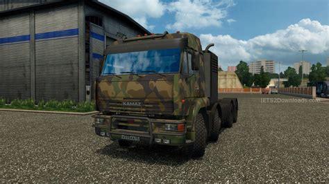 game modding euro truck simulator mods kamaz 54 64 65 euro truck simulator 2 mods