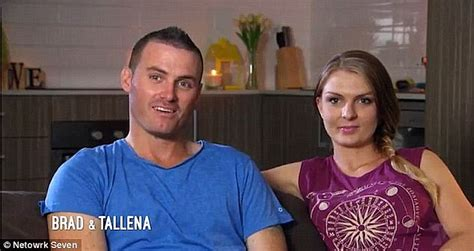 seven year switch brad and tallena instagram seven year switch s brad and tallena take to social media