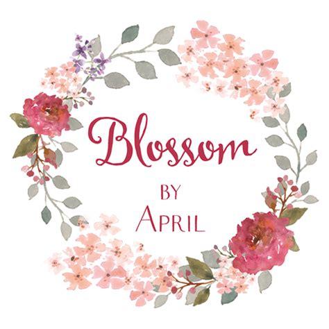 design logo shabby chic elegant traditional logo design for blossom by april by