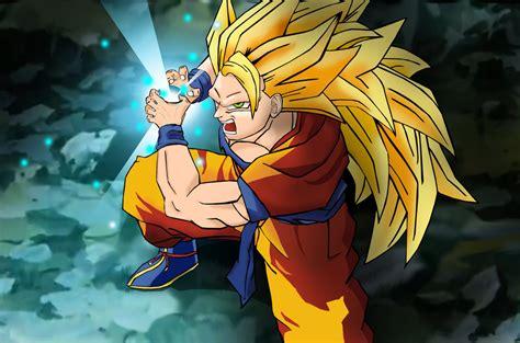 Goku Ss3 saiyan 3 goku kamehameha by westbrionage on deviantart