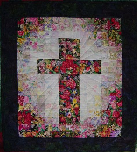 Cross Quilt Patterns by Watercolor Cross Quilts