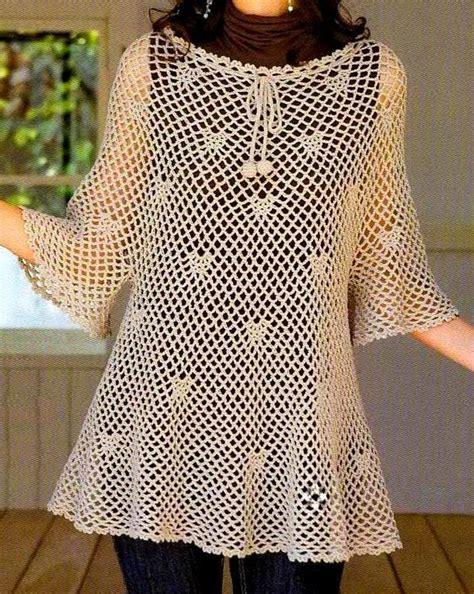pattern crochet tunic crochet sweaters crochet patterns of a wonderful tunic