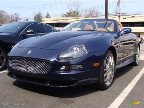 maserati dark blue blue nettuno dark blue 2006 maserati gransport spyder