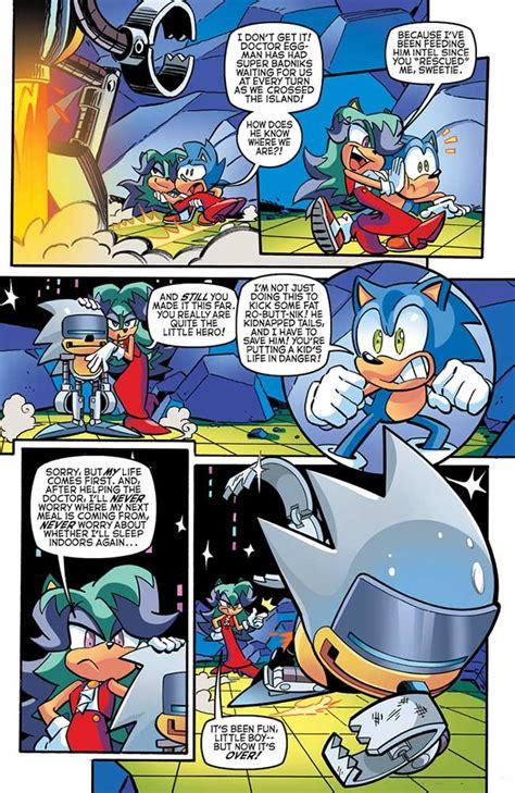 Crush Gear Part Cover Mega Universe sneak peek sonic the hedgehog 269 major spoilers comic book reviews and news