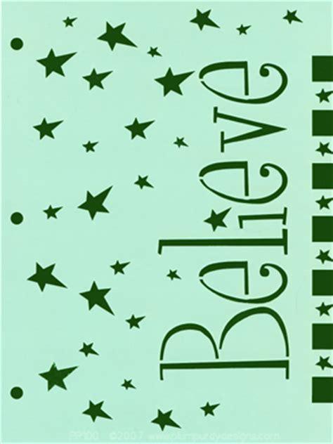 printable primitive letter stencils 8 best images of printable believe stencil free