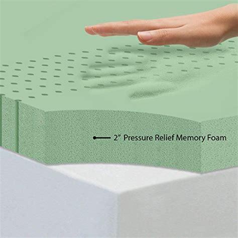 Memory Foam Mattress Dubai by Sleep Master Memory Foam 2 Inch Mattress Topper In