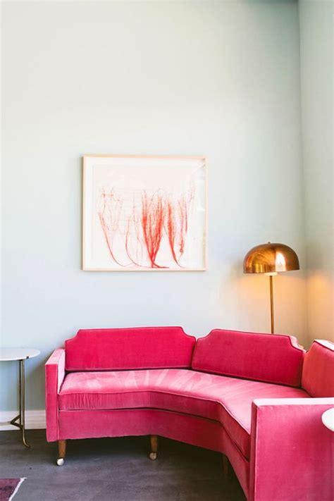 pink velvet sofa velvet sofa home inspiration pinterest