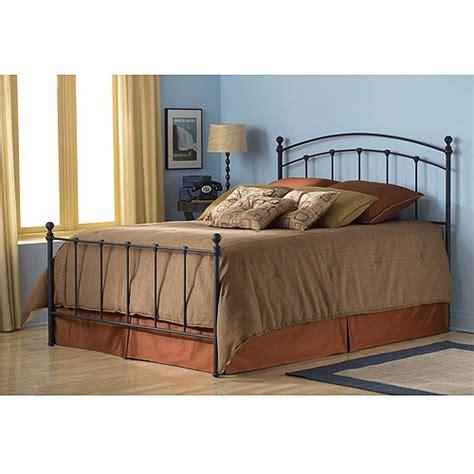 sanford king bed matte black walmart
