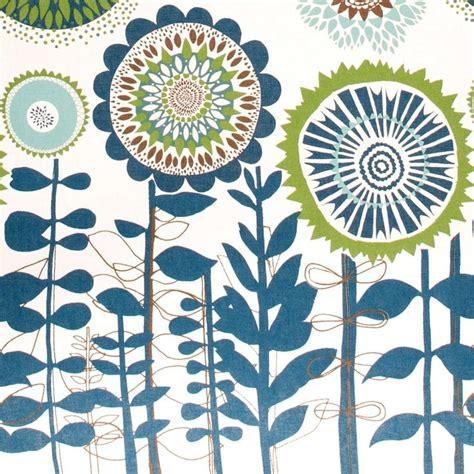 design pattern decorator c scandinavian solros fabric big flowers by spira