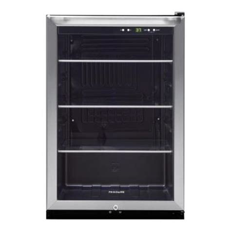frigidaire 138 12 oz can capacity beverage center in