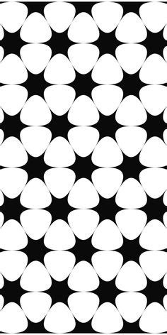 pattern password star black and white seamless circle pattern design