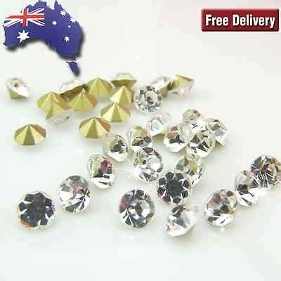 1000pcs V Cut Point Back Ab Rhinestone Permata rhinestone tagged quot pointy back quot avant