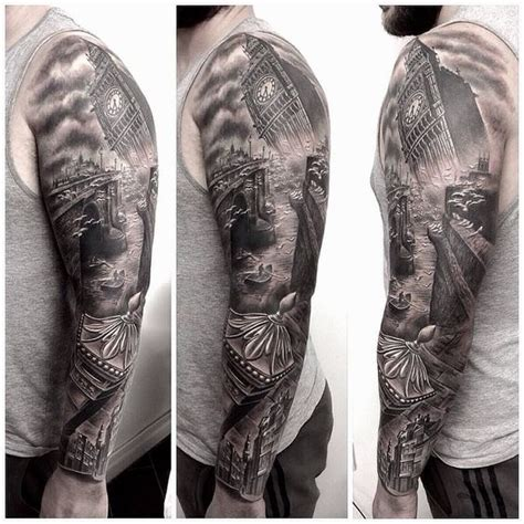 tattoo london fields really enjoy this london themed sleeve i worked on last