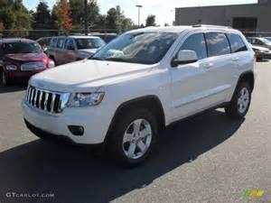 2012 white jeep grand laredo x package 4x4