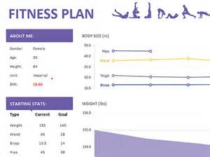 exercise session plan template fitness plan templates office