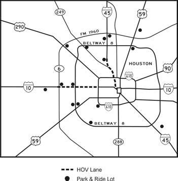 houston hov map houston managed lanes study the evolution of the