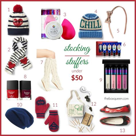holiday gift guide 2015 stocking stuffers under 50