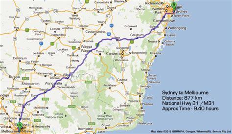 drive from sydney to melbourne australia map sydney melbourne my blog