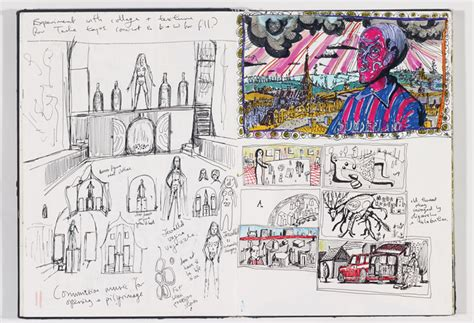 Sense Of Vanity Grayson Perry Sketches