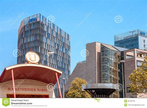 state bank frankfurt kfw bank new building editorial image image 32700155
