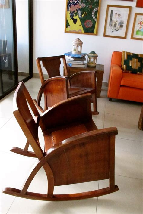 Nicaraguan Rocking Chairs by Sillas Abuelitas Mecedoras Furniture