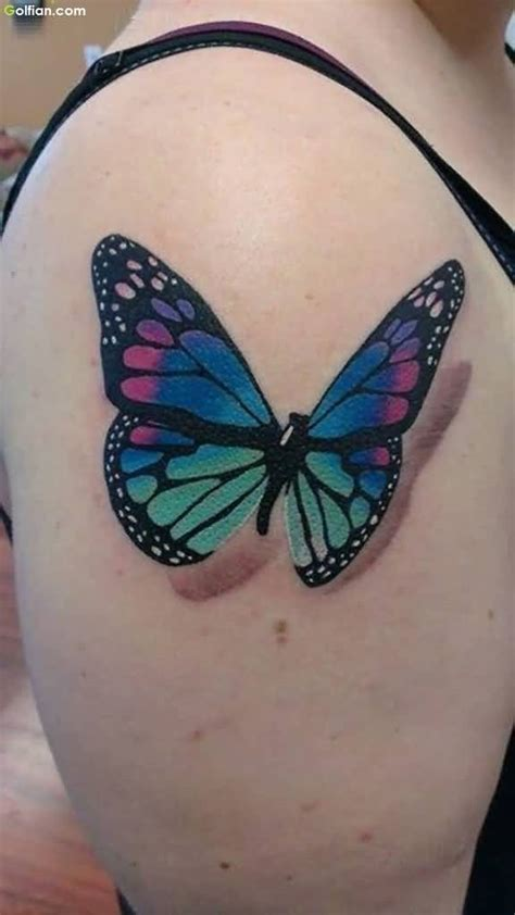 tattoo butterfly colours 40 lovely 3d butterfly tattoo designs colorful 3d
