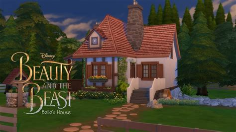sims 4 s house and the beast