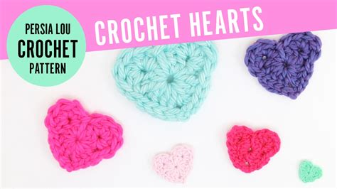 crochet heart pattern uk youtube how to crochet hearts free crochet heart pattern youtube