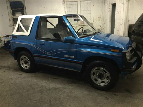 chevy tracker 1990 1990 chevy geo tracker 4x4 convertible classic chevrolet