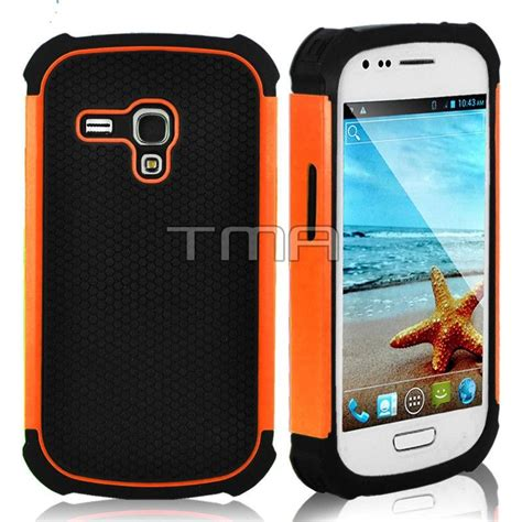 rugged mini cases rugged hybrid rubber impact cover for samsung