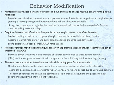 Behavior Modification What It Is And How To Do It Pdf by Behavior Modification Ocd Behavior Modification Ocd
