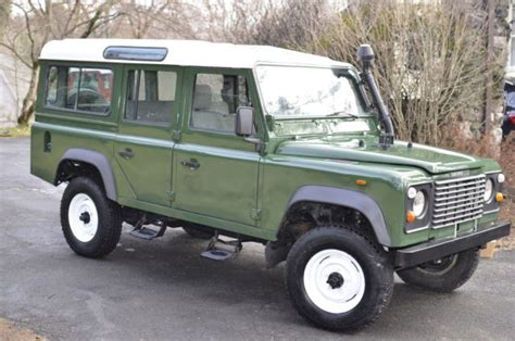 original land rover original land rover defender 110 1988 lhd for sale land