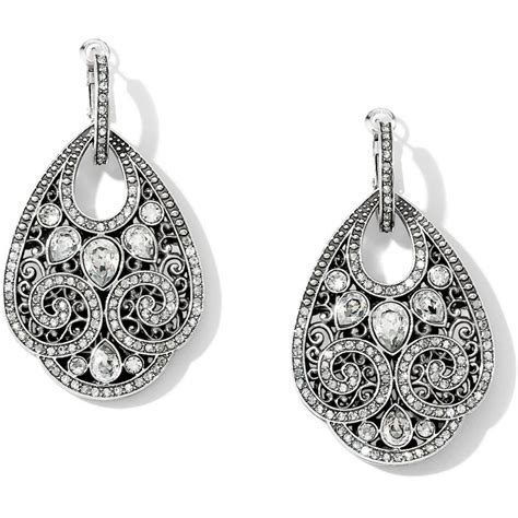 Drop Earring mumtaz mumtaz teardrop hoop drop earrings earrings