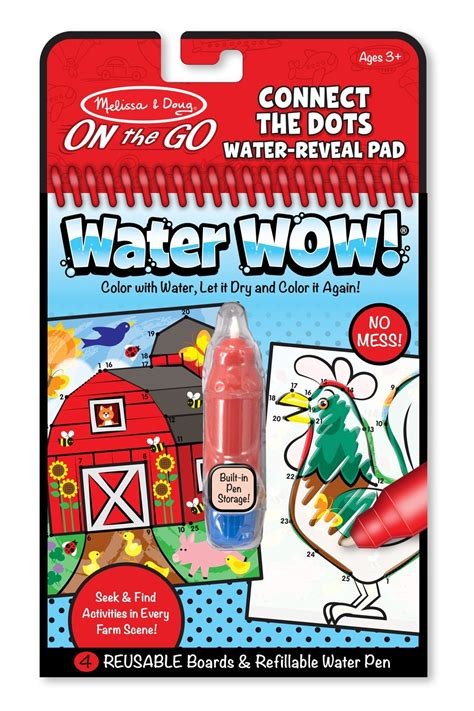 Doug Water Wow doug water wow farm connect the dots water reveal pad curious