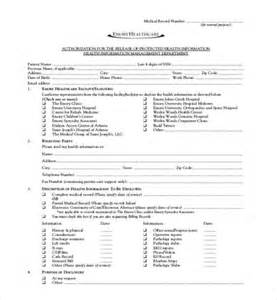 19 sample medical records release forms sample forms