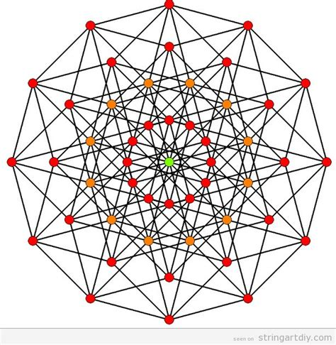 Geometry String Patterns - 115 best images about string on string