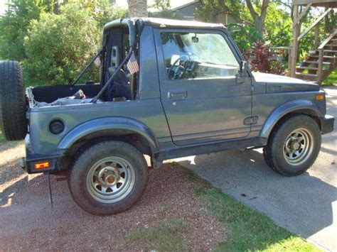 Suzuki Samurai Soft Doors Find Used Samurai 4wd Soft Top 2 Door Low In
