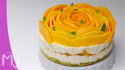 cheesecake de mango tarta de queso sin horno youtube - Decorar Un Pastel De Mango