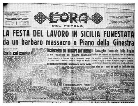 porta della ginestra 1 maggio 1947 l eccidio di portella della ginestra