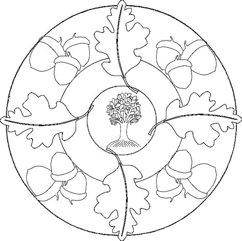 Mandala Coloring Pages Fall Mandala Coloring Pages