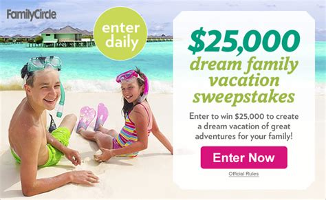 Family Vacation Sweepstakes - family circle sweepstakes 2015 html myideasbedroom com